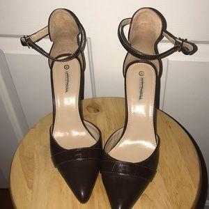 Women's Brown Heels Size 10